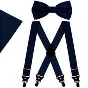Bow tie & Suspenders