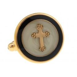 """Cufflinks """"Faith Cross"""""""