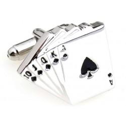 "Cufflinks ""Cards Player"""