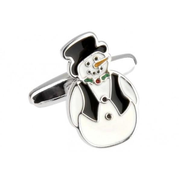 "Cufflinks ""Funny Snowman"""