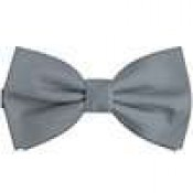 Gray Bow ties