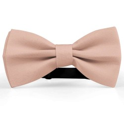 Bow Tie for Men, pink, butterfly, silk satin, uni, non-shiny, handmade, funny