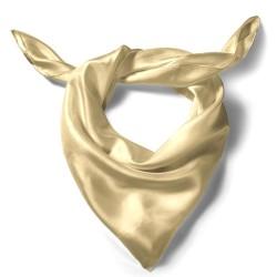 Silk scarf, beige
