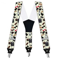 "Suspenders, beige, personalized,""Fashion, Breakout Trends"""
