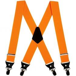 Suspenders, orange, uni, handmade, smart casual