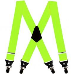 Suspenders, green, uni, handmade, smart casual
